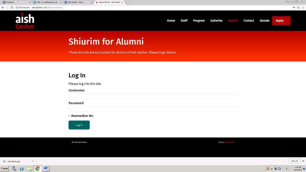 alumni shiurim 2