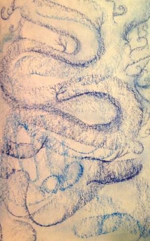 Oil Pastel on Archival Paper