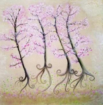 Quatre Fleurs: Cherry Blossom