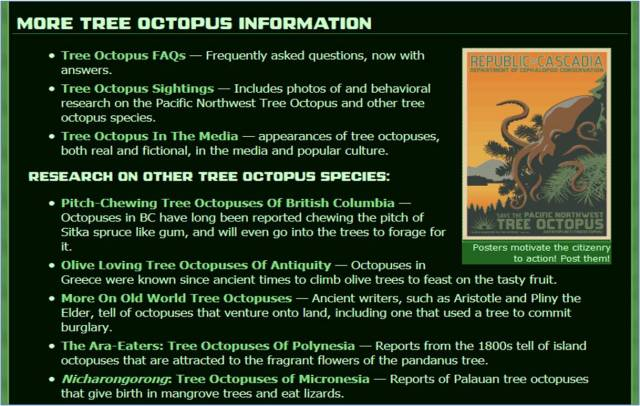 TRAILS-tree octopus