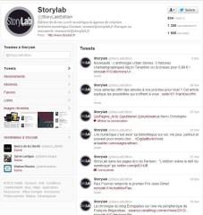 storylab twitter