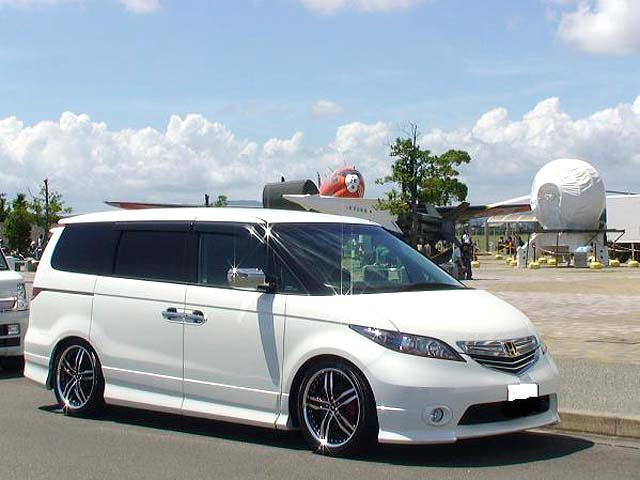 HONDA ELYSION + SHALLEN XF-55 - ELYSION, XF-55