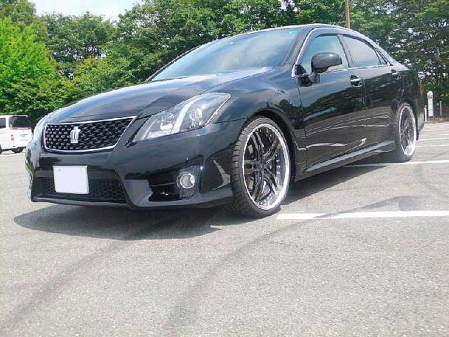 TOYOTA CROWN ATHLETE + SHALLEN XF-55 - CROWN ATHLETE XF-55