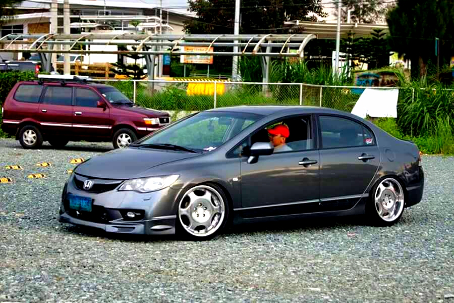 HONDA Civic FD + SHALLEN LX - Civic, LX
