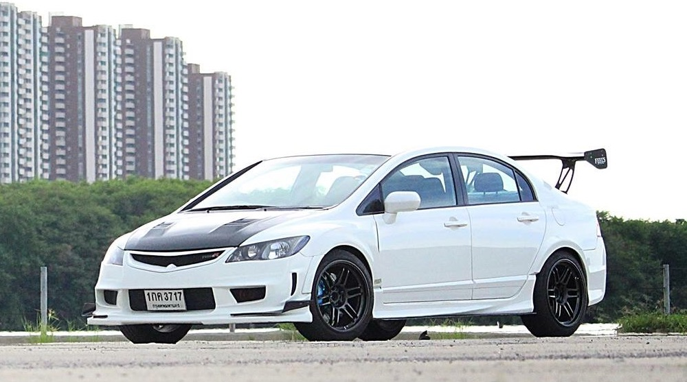 Honda Civic FD + AME TRACER TM-02 - TM-02 Civic