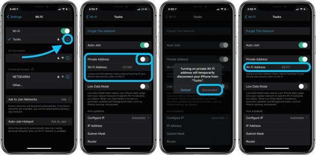 كيفية استخدام عناوين واي فاي خاصة في آيفون وآيباد لحماية خصوصيتك