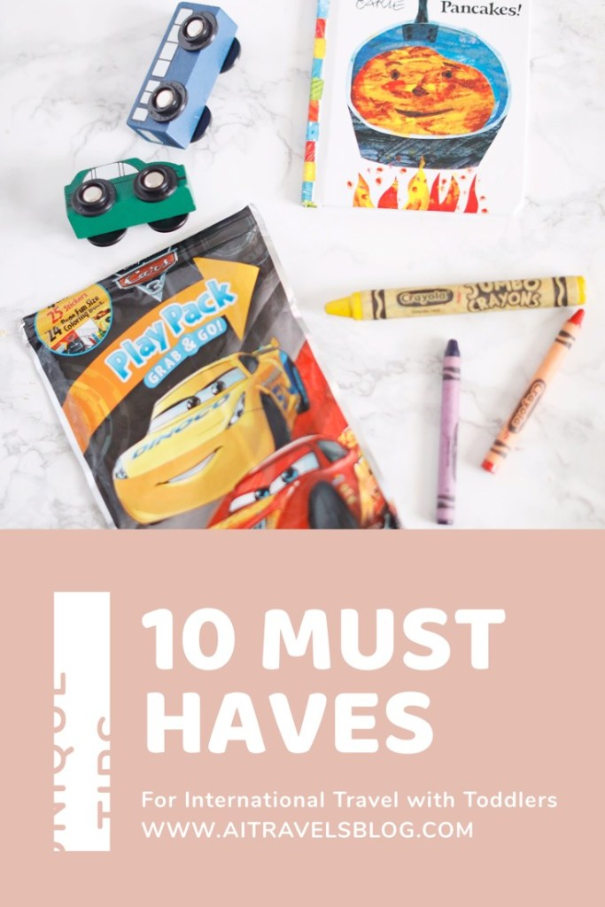 10 Essentials for Easy International Travel with Toddlers- aitravelsblog.com