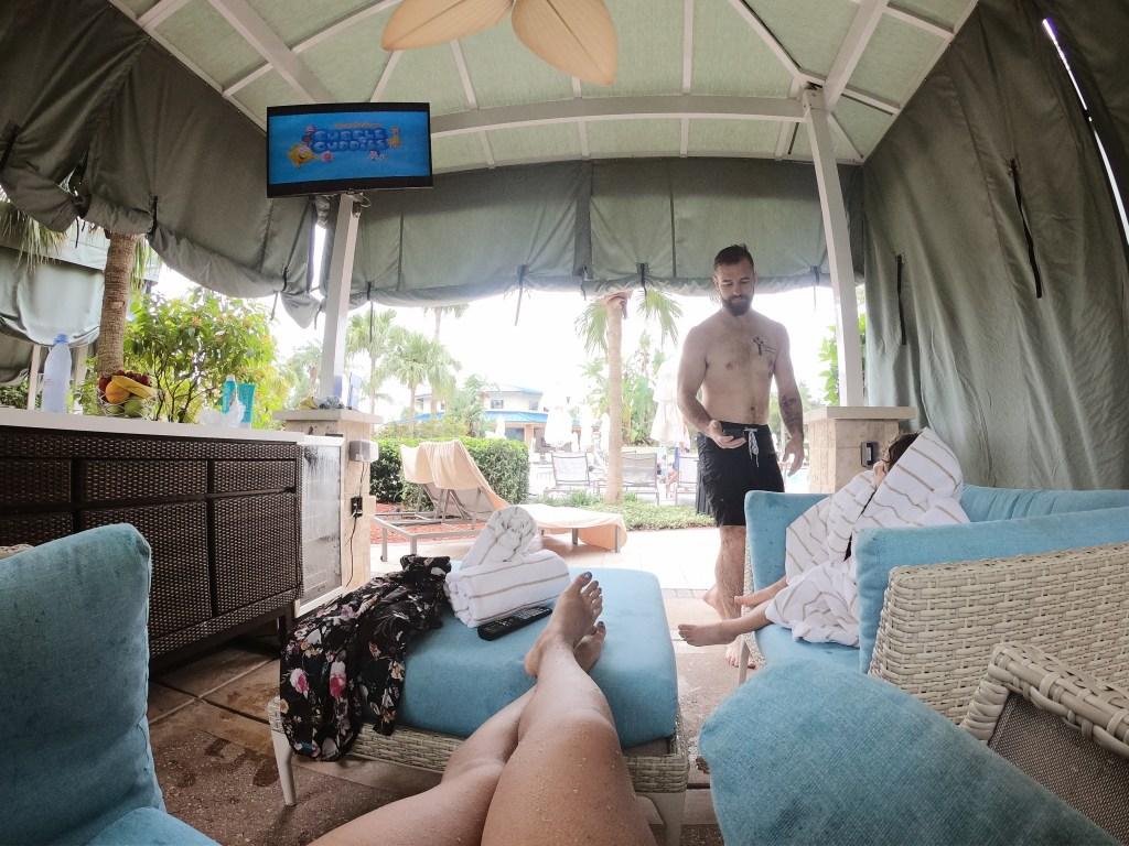 hilton orlando cabana