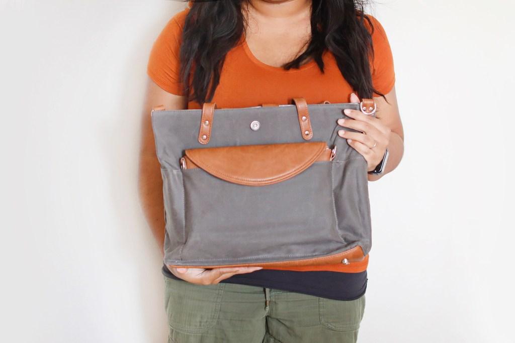 me holding momkindness bag