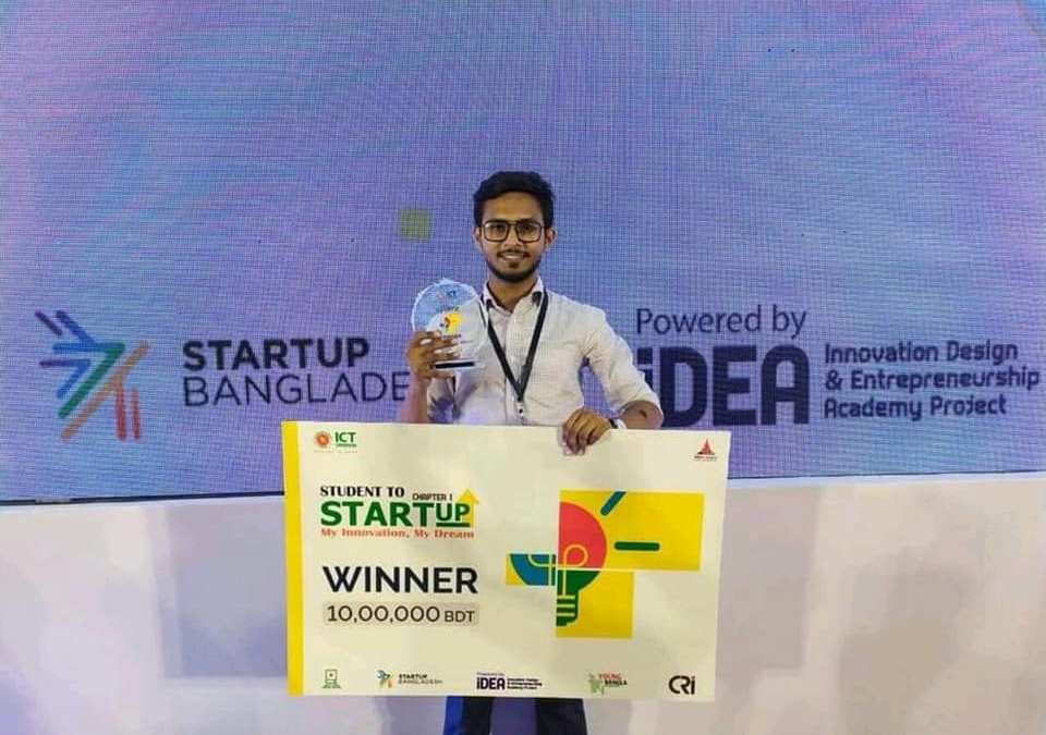 Achievement: Champion at Student to StartUp: Season 1