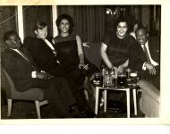 Mary and James (also known as Micky) with friends, 1960s. There are many similar photos in the collection of the couple having fun with friends, and later of Mary, who outlived her husband, with groups of female friends.