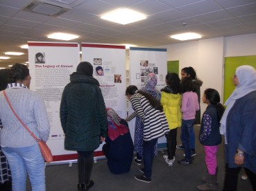 Visting the Legacy of Ahmed touring display