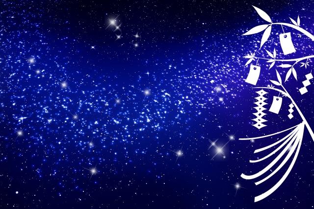 七夕の夜空