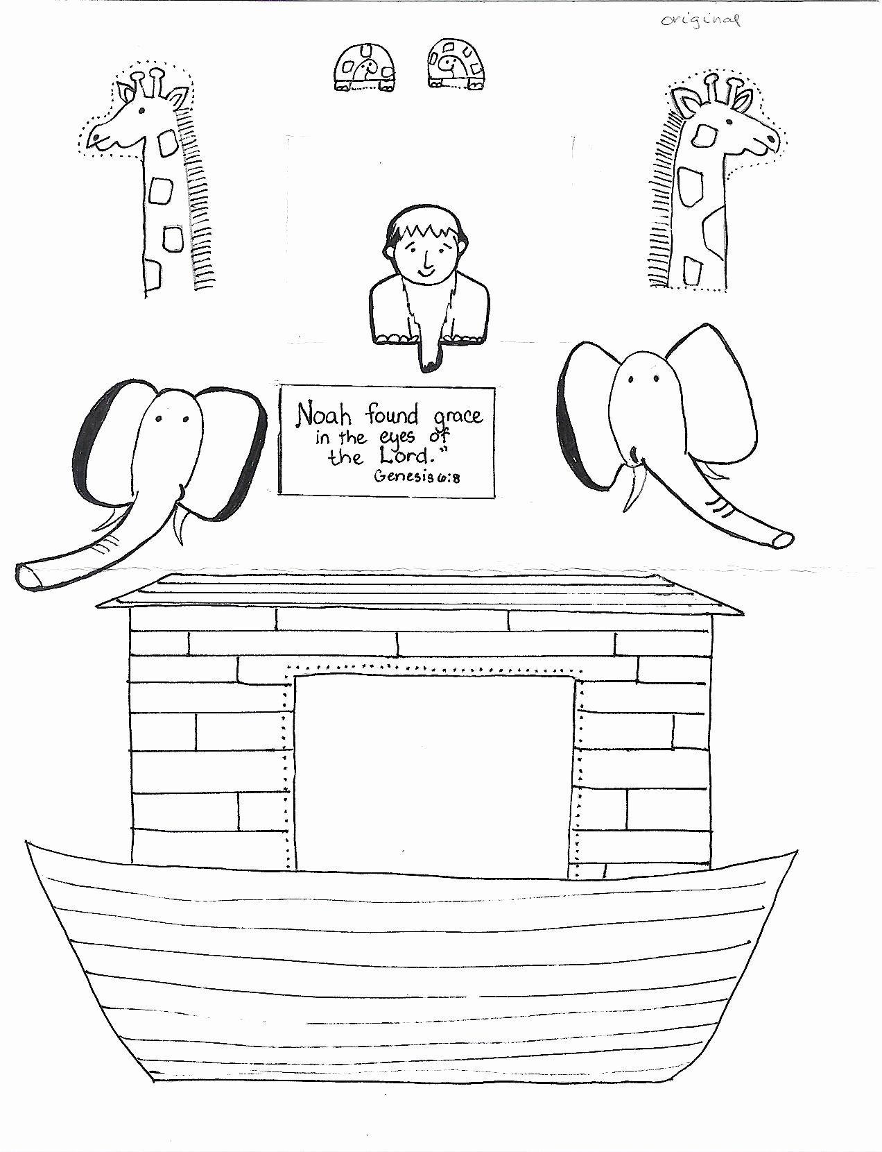 Bible Story Worksheets For Preschoolers