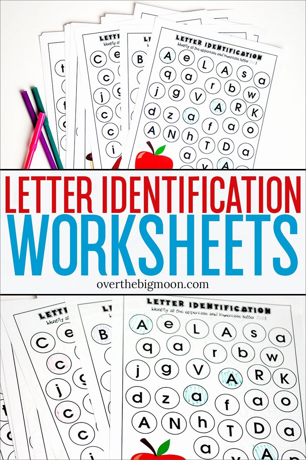 Letter A Recognition Worksheets For Preschoolers