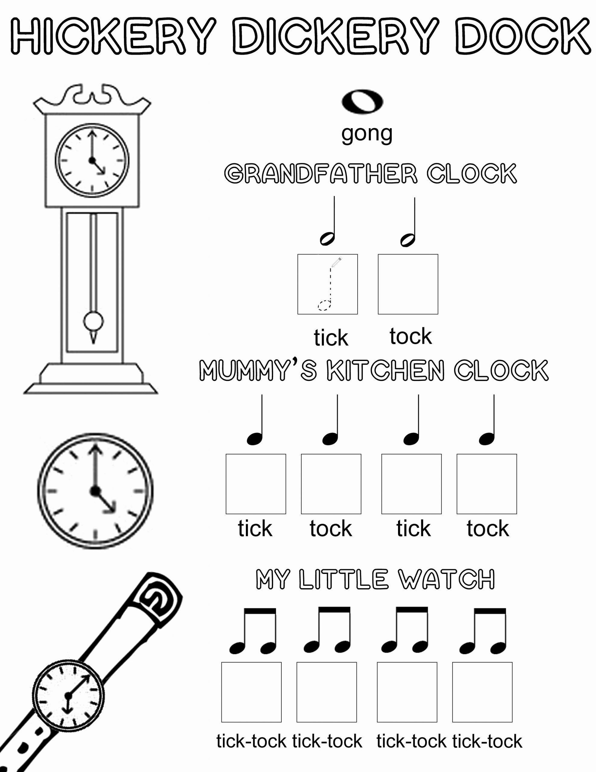 Piano Worksheets For Preschoolers