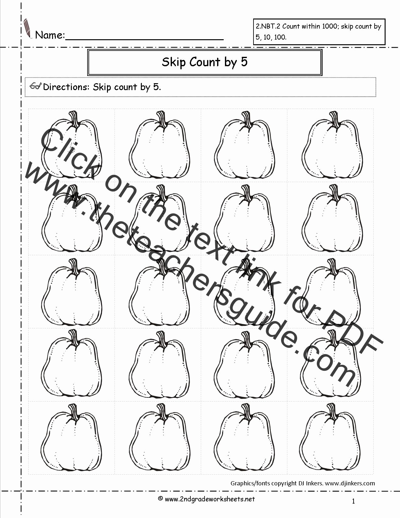 Pumpkin Math Worksheets For Preschoolers