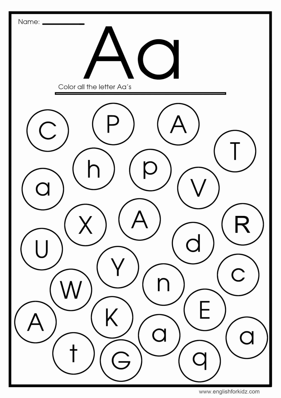 Worksheets For Preschoolers On Letters Lovely Letter C