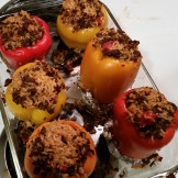 Those Other Stuffed Peppers - Before Cheese