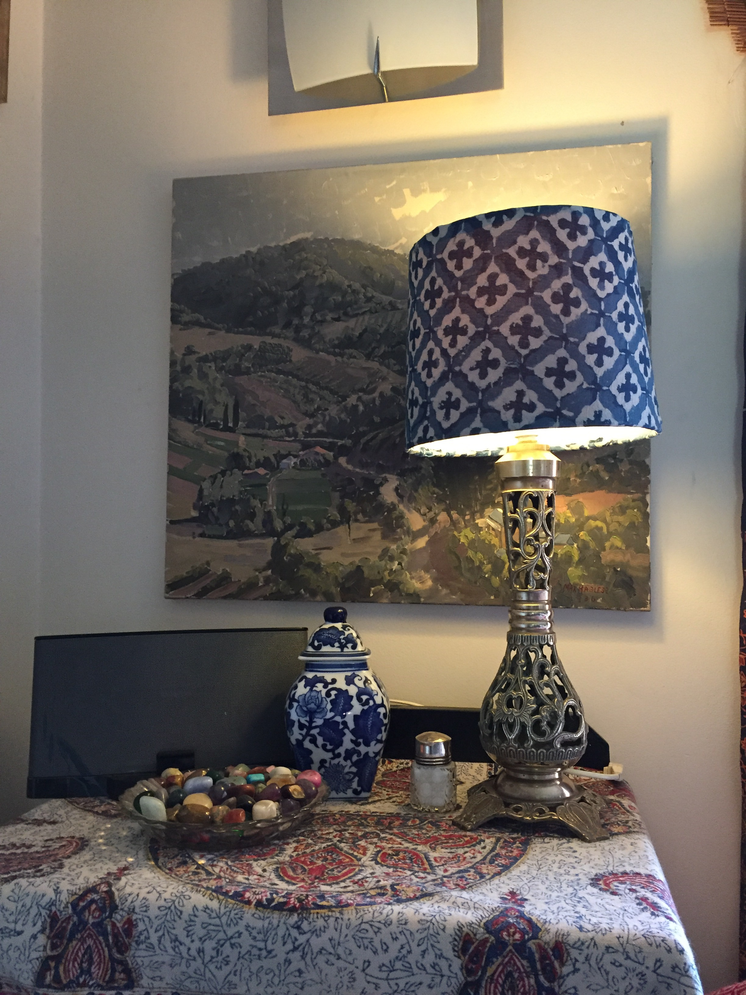 Upcycling a Lamp