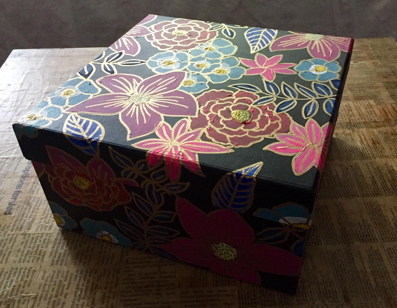 Cloisonné Inspired Box