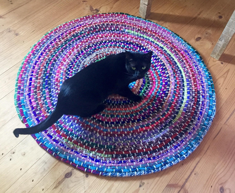 Knitted Floor Rug