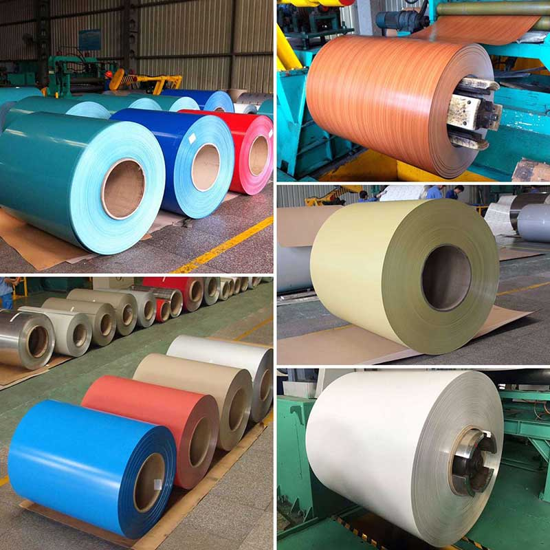 Color Coated Aluminum Coil & Sheet