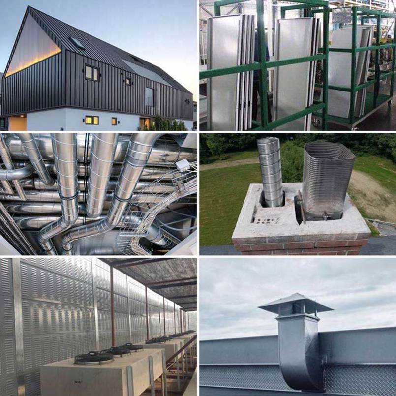 Application of GL Steel Coil/Sheet/Strip/Roll