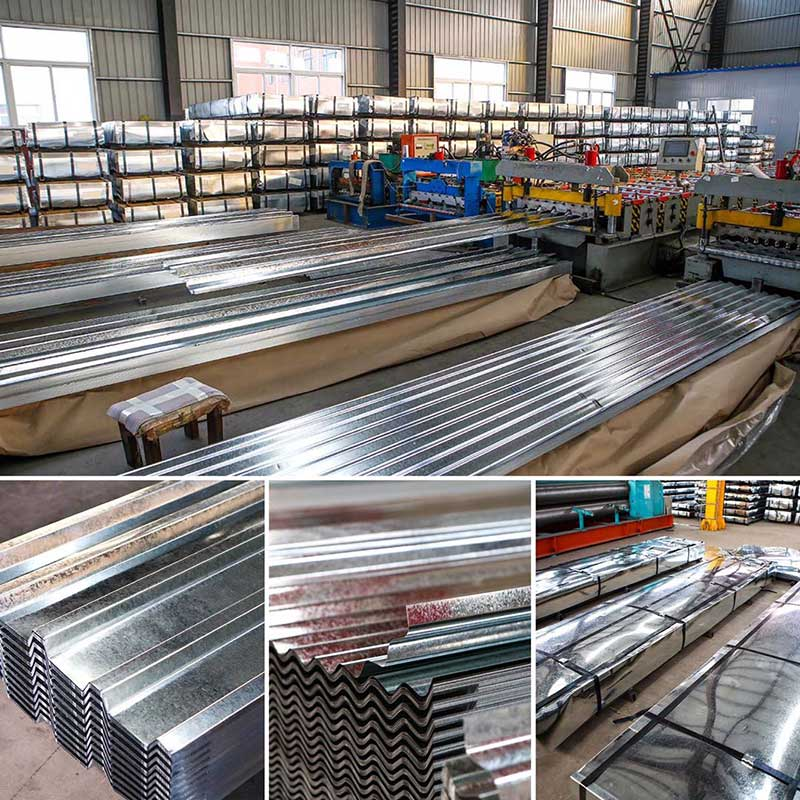Galvanized & Galvalume Steel Roofing Sheets