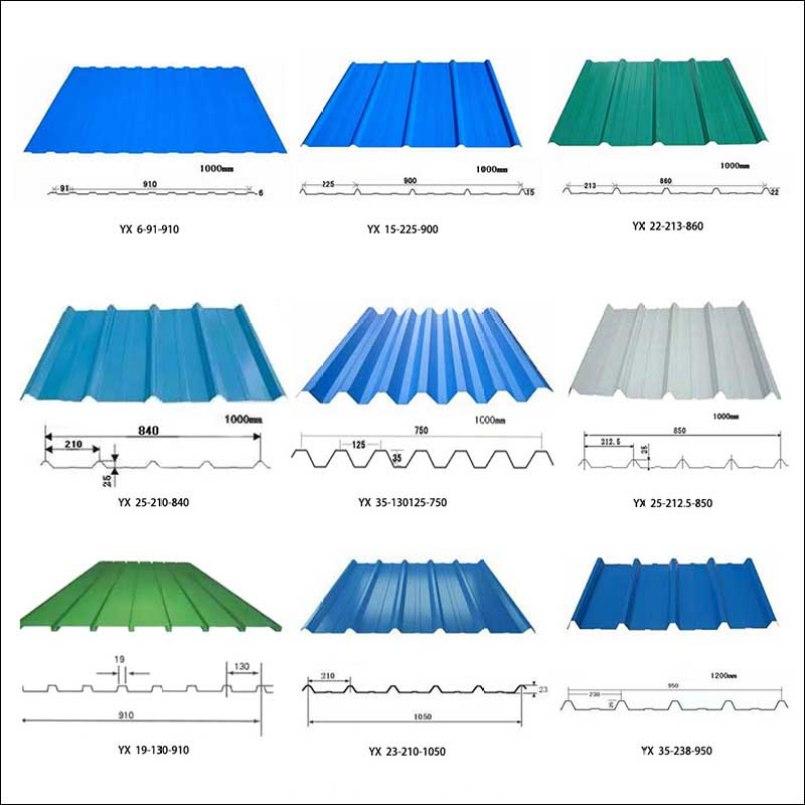 Trapezoidal Steel Sheet