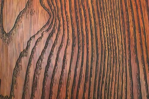wood Grain Pattern steel