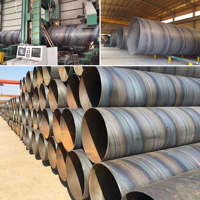 Spiral Steel welded pipe