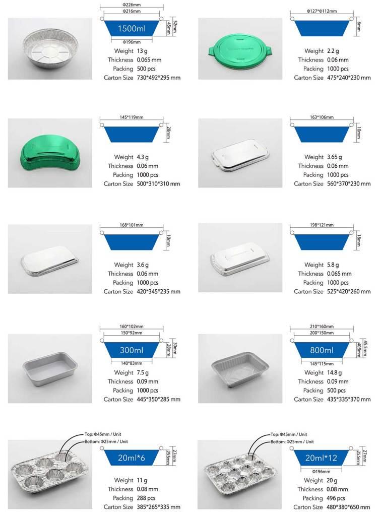 Aluminum foil container 05