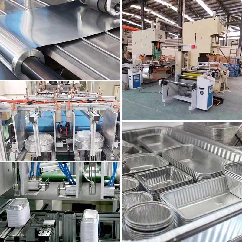 Aluminum foil container factory