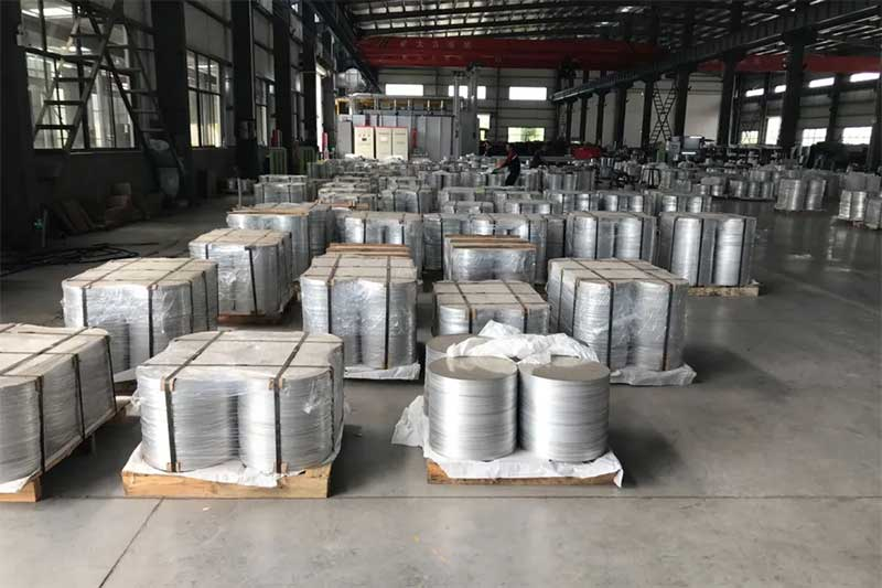 fábrica de discos de aço inoxidável