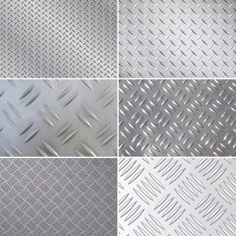 Aluminum Checker Plate Shape
