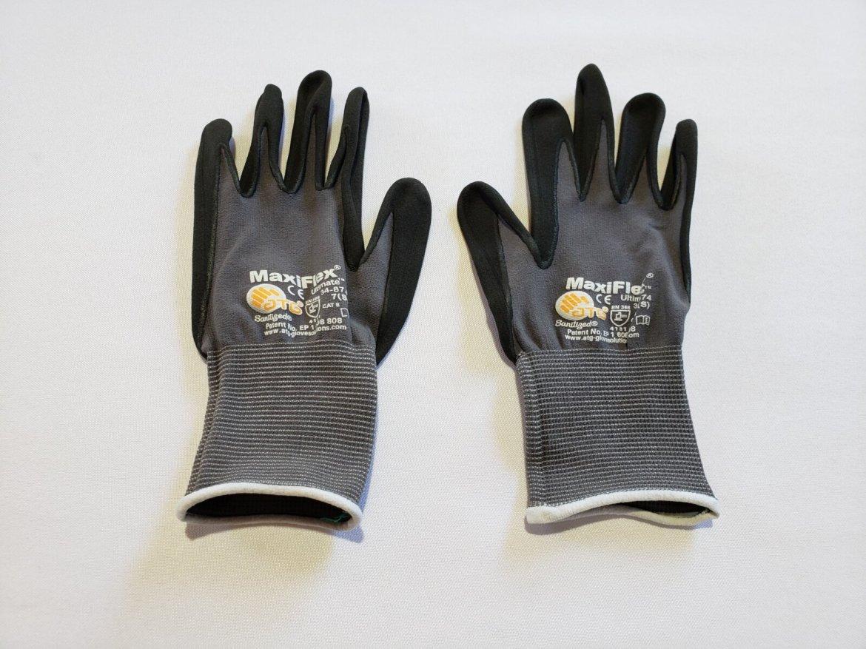 G-Tek Glove, Small, White Band