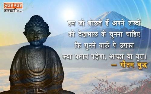 buddha thoughts in hindi