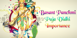 Basant Panchmi Pujan Vidhi in Hindi