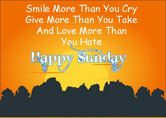 happy sunday images wishes