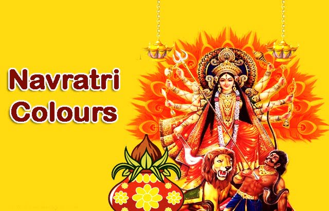 navratri colours in hindi