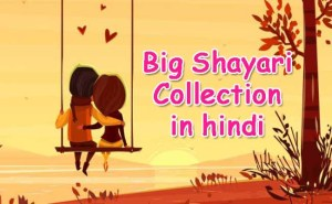Big Shayari Collection in hindi
