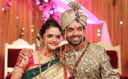 Ajinkya-Rahane-Wife-Photo-Name-Age-Pregnant