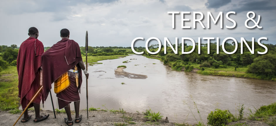 Terms and conditions when booking a safari with Ajabu Adventures