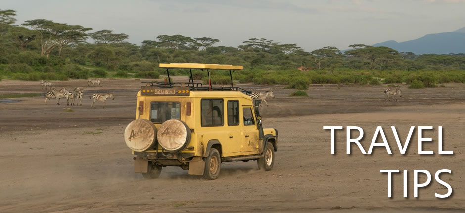 Travel tips Tanzania