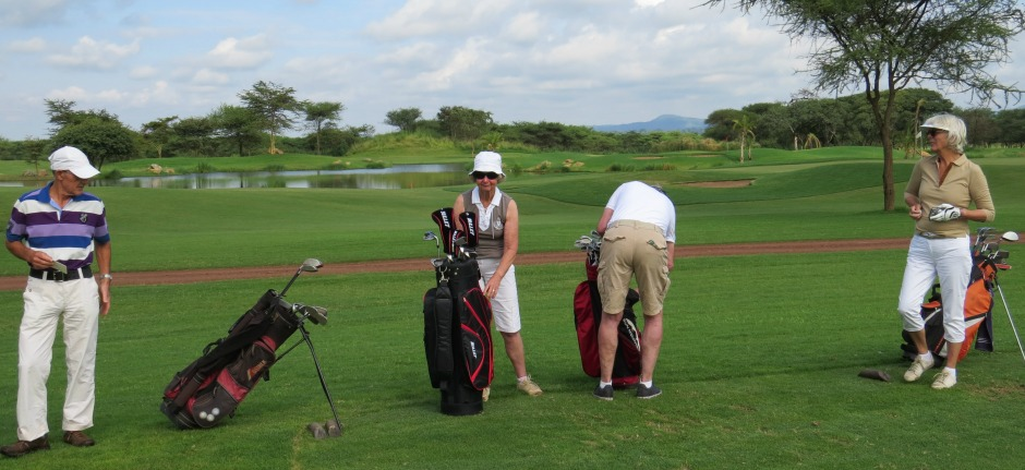 golf wildlife tanzania private safari