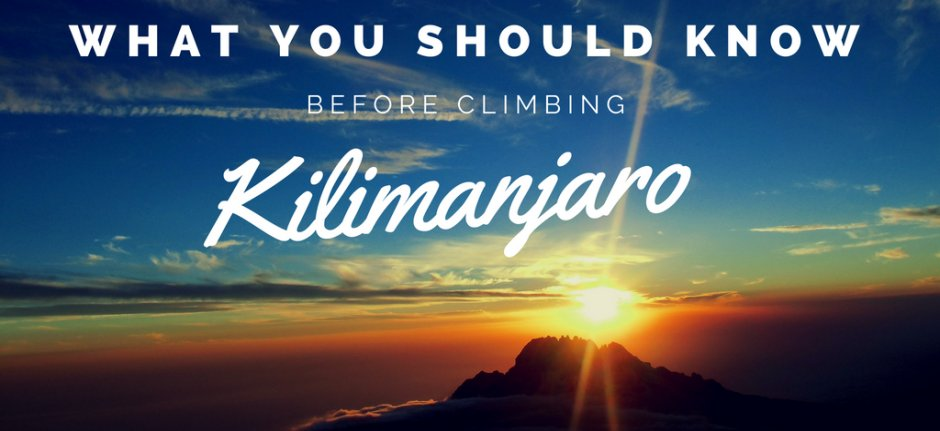 7 Tips for a successful Kilimanjaro climb