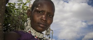Beautiful Maasai woman Tanzania