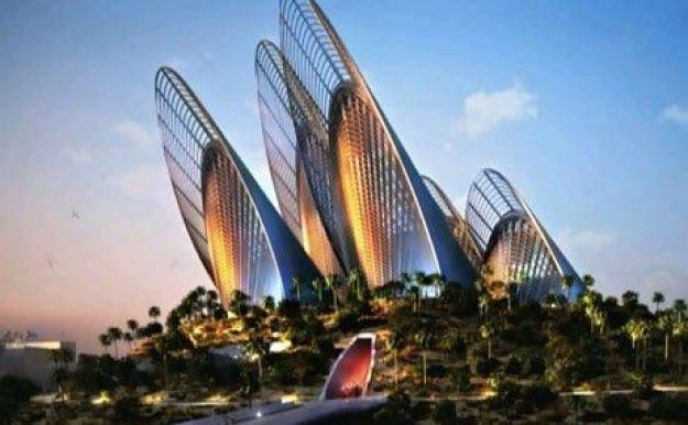 Wing Shape Zayed National Museum (Abu Dhabi)