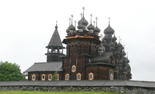 Museum dan gereja kayu terbuka, Karelia, Rusia